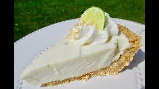 KEY LIME PIE in 15 minutes | No-Bake Recipe | DIY Demonstration