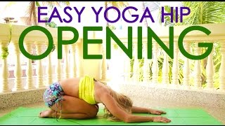 Easy Yoga Hip Opening Practice with Kino in Mysore,  India