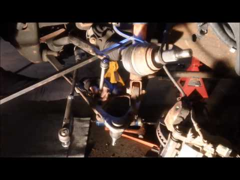 Ball Joint Replacement in a 2001 Chevrolet Suburban 1500