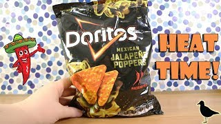 Mexican Jalapeno Poppers Flavoured Doritos! Food Tasting Review | Birdew Reviews