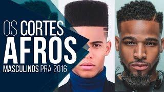 Cortes de Cabelo Afro pra 2016 - Tendências Masculinas #08