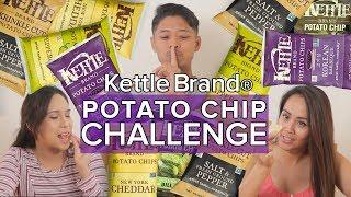 Kettle Brand Potato Chip Challenge (Taste Test)