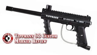 Tippmann 98 Custom Paintball Marker Review Unboxing Lone Wolf Paintball Michigan