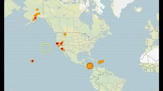 Earthquake Update: M6.3 Strikes Iraq/Iran Border Region, Quakes Hit Off Colombia Coast