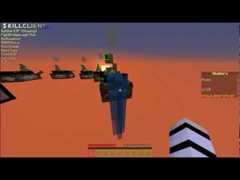 NoBan Minecraft 1.11.2 Hack Client Mod menu SkillClient