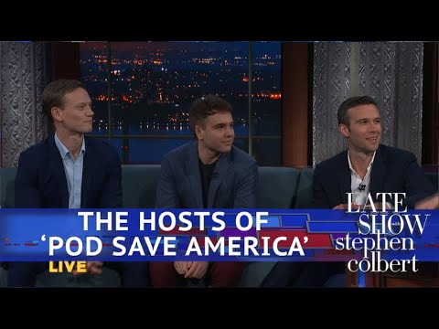 The 'Pod Save America' Hosts Analyze Trump's SOTU thumbnail