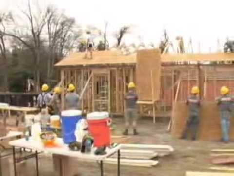 Fort Benning Soldiers use their carpentry skills to help the community