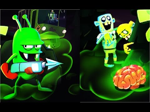 Охотники на зомби  игра как мультик для детей про Ловцов зомби #Мобильные игры