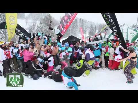 AZStv - SNOWBOARD HARLEM SHAKE