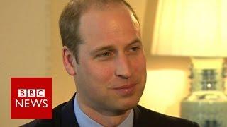 Prince William: 'I don't lie awake waiting to be king' BBC News