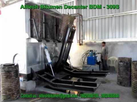 Alltech Bitumen Decanter