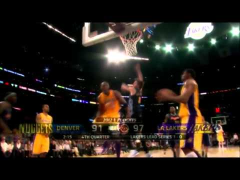[Kobe Bryant] Playoffs 2012: Los Angeles Lakers vs. Denver Nuggets