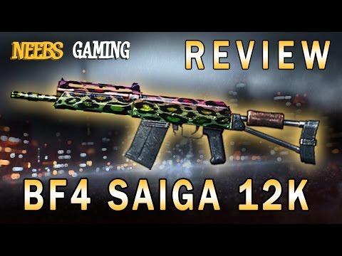 BF4 Saiga 12K Review