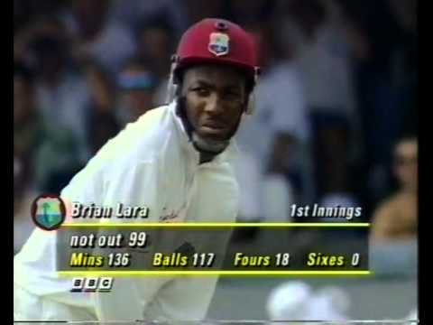 Brian Lara 152 vs England 5th test 1995