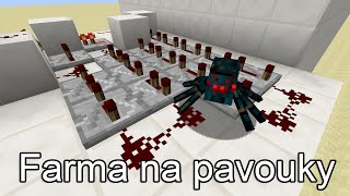Minecraft 1.8 tutoriál: XP farma na pavouky (Cave Spider)
