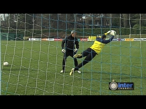 Allenamento Inter Real Audio Handanovic