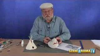 How To Build A Tepee Diorama - School Project | Scene-a-rama