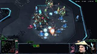 StarCraft 2 Terran vs Protoss Dirty and messy