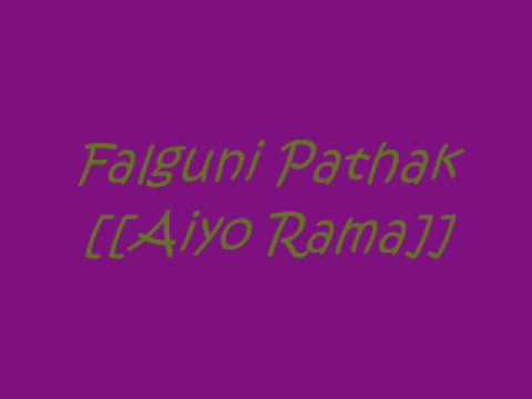 Falguni Pathak - Aiyo Rama video