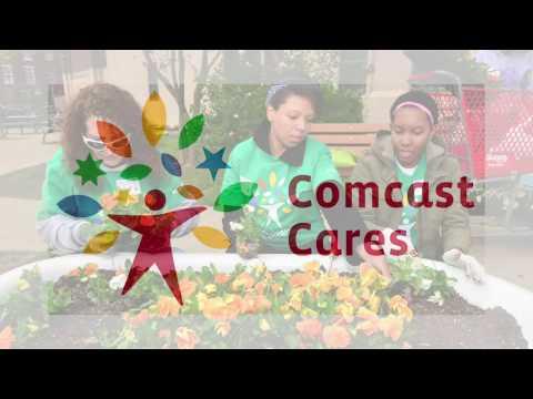 El Mundo Boston - Comcast Cares Day Lawrence