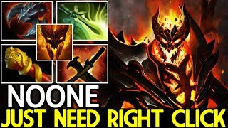 Noone [Shadow Fiend] Just need Right Click Mid Gameplay 7.22 Dota 2