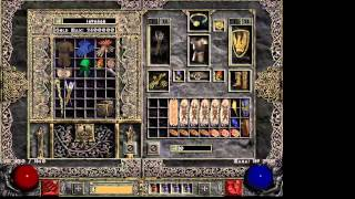 Diablo 2 javazon build and 3 minutes Chaos Run! (Old)