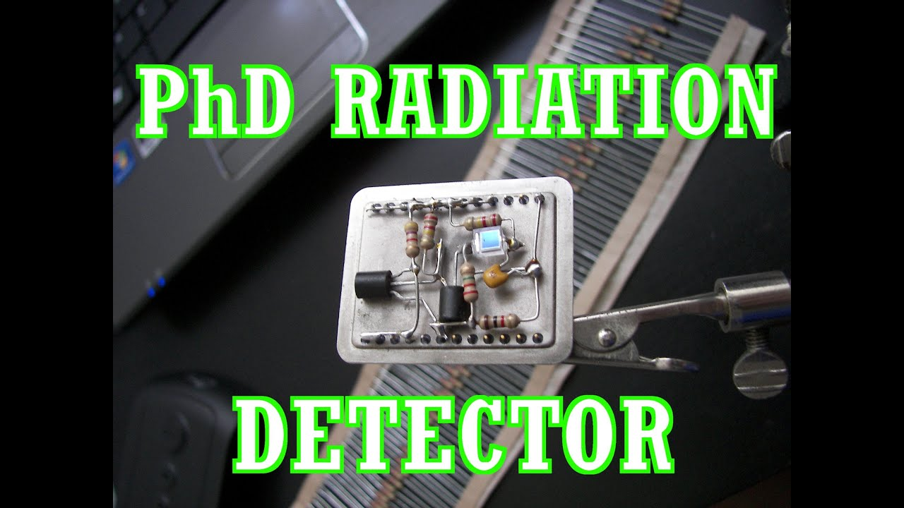 pin photodiode gamma radiation detector  testing