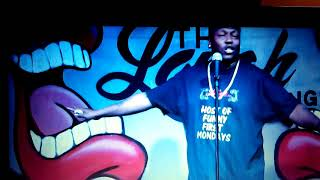 Funny frst Monday comedy show at the laugh lounge comedy club Eric RIVERS