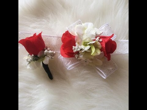Easy   Cheap   D.I.Y   Corsage for Prom
