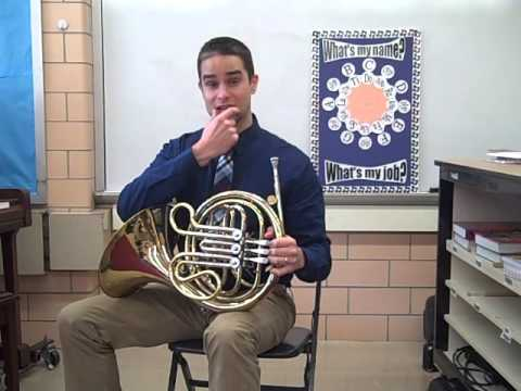 How to articulate notes on the french horn on a C (Do)
