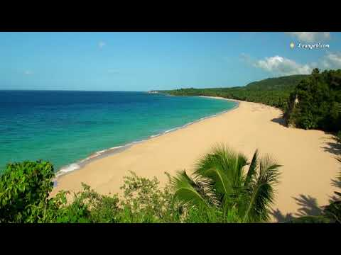 Those Relaxing Sounds of Waves - Ocean Sounds, 1080p HD Video with Tropical Beaches