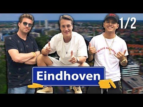 OVERLEVEN ZONDER GELD in EINDHOVEN! (ft. Vinchenzo) | (1/2) #24uOZG | stampen