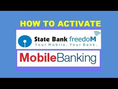 how to activate sbi mobile banking