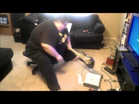*ORIGINAL* Real Life Eric Cartman Destroys his Xbox!