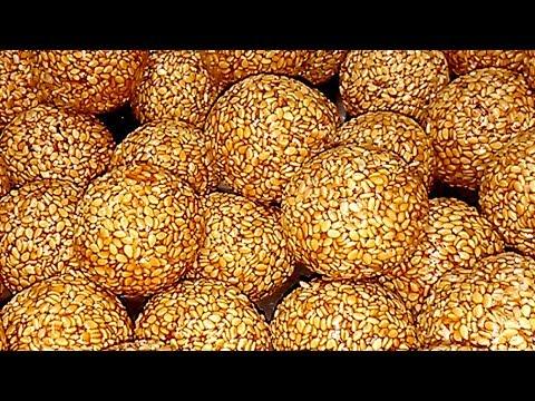 నువ్వుల లడ్డు ఇలా చేయండి చాలరుచిగా ఉంటాయి హెల్తీ ఫుడ్ నువ్వుల లడ్డు | Nuvvula Laddu Recipe In Telugu