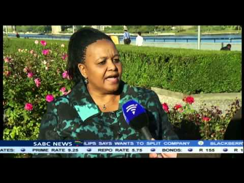 Edna Molewa is attending the UN Climate Change Summit in New York