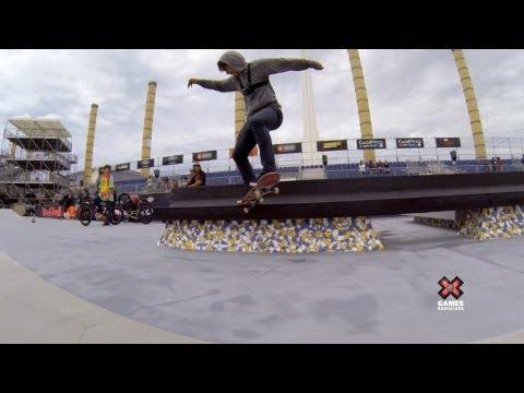 Skate Street with Sean Malto - Summer X Games 2013 Barcelona