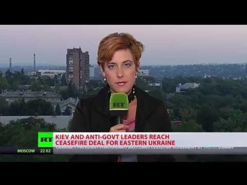 Kiev, East Ukraine militia agree on ceasefire