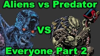 Aliens vs Predator vs All Other Licenses Crossover Comics (Part 2 of 3) - An In-Depth History