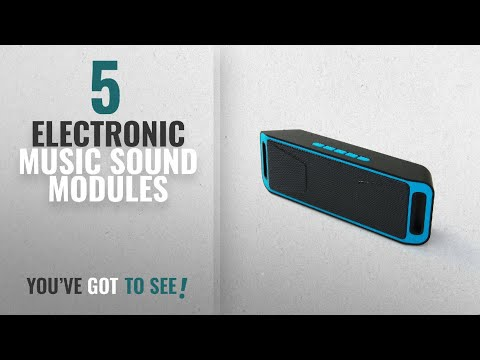 Top 10 Electronic Music Sound Modules [2018]: NEWBEING S6 Wireless Bluetooth Speaker, Outdoor