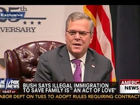 Jeb Bush Attacked Over His Immigration Comments