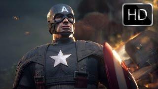 Captain America: Super Soldier - All Cutscenes/ Full Movie (Full 1080p HD)