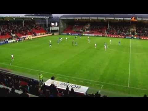 Fredrikstad FK - Lech Poznań 1:6 Europa League