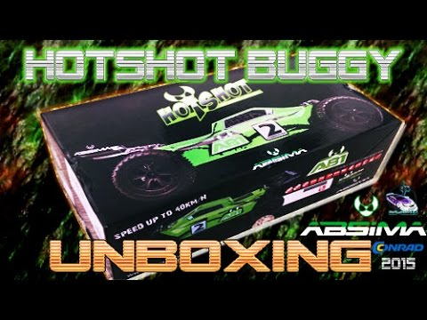 Absima Hot Shot AB1 1:10 RC Buggy 4WD (Unboxing)