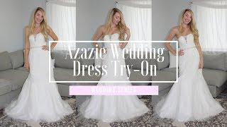 AZAZIE WEDDING DRESS TRY ON | ALYSSA DAW