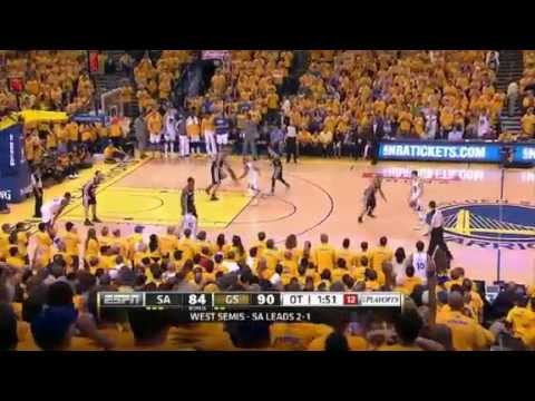 NBA Playoffs 2013: San Antonio Spurs Vs Golden State Warrior Highlights May 12, 2013 Game 4