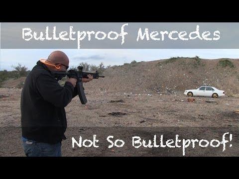 Bulletproof Mercedes Benz - Not So Bulletproof!
