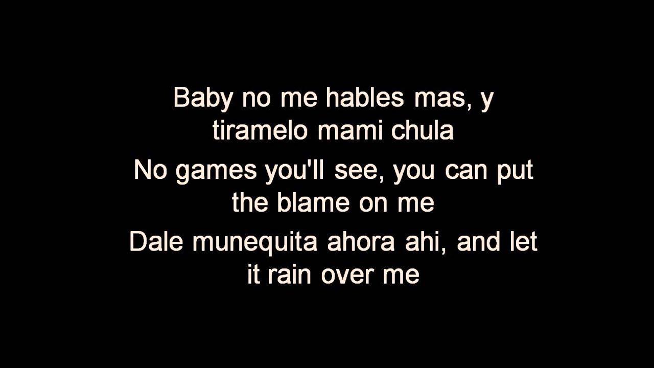 Pitbull - Rain Over Me Lyrics | MetroLyrics