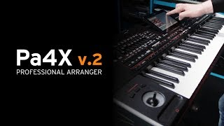 KORG Pa4X OS v.2 - New Sounds, Drum Kits, Styles, Features!