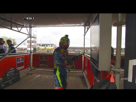 Antonio Cairoli Crash At Mxgp Of Europe 2015 - Motocross video